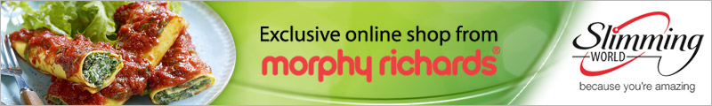 Welcome to the Slimming World online shop from Morphy Richards